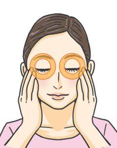 目の下のたるみ、眉間や目尻のシワ対策に「パンダマッサージ」(老け顔グセ直し⑥)