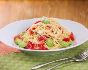 美肌になりたい人は酢トマトで作る【冷製パスタ】を食べよう
