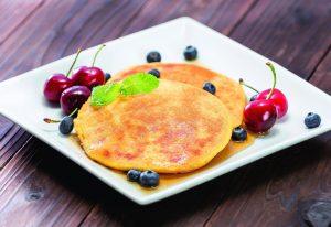 痩せ体質を作る秘訣は良質な「タンパク質」!米粉と豆腐のパンケーキ(ダイエット対策に)
