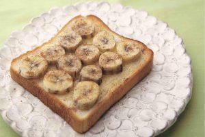 【シナモンバナナ】レシピ① 5分でできるジュースとトーストで血圧対策