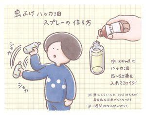 ミニマリストのセルフケア日和(vol.10) ハッカ油を虫除け、かゆみ止め、足のにおい対策に使ってみた