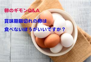 卵の賞味期限はどう決めてる?期限切れは廃棄すべき?【卵のギモンQ&A⑬】