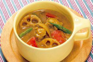 【ダイエット対策レシピ】ケトン体の生成がアップ!具沢山のココナッツミルクのスープカレー