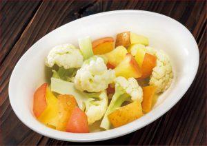 動脈硬化を防ごう!カリフラワーとリンゴのさっぱり蒸しレシピ