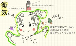 花粉症にはハチミツを 〜イノコ ハナエのきれいになる漢方 vol.14〜