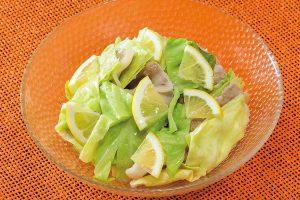 話題の調理法「ゆで蒸し」で作る春キャベツのレモン蒸し(高い血糖を気にする人に)