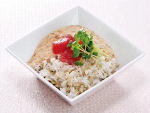 もち麦ダイエットレシピ① モッチモチのもち麦とマグロの麦とろごはん