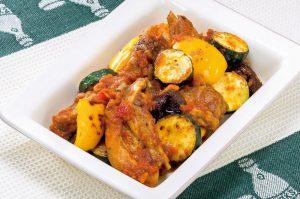 トマトの赤い色素成分「リコピン」で若さを!スペアリブのトマト煮(ダイエット対策に)