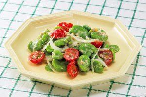 旬野菜を使おう!そら豆とツナのさっぱりサラダ(ダイエット対策に)