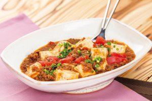 【夏バテ対策】ヘルシーな[うま辛料理]で汗をかこう!トマト麻婆豆腐