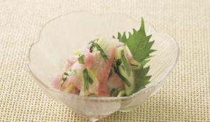 スイカの皮の酢漬けレシピ③【スイカの皮と甘酢ショウガのさっぱり和え】