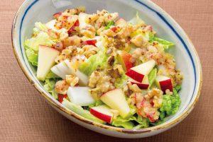 【アンチエイジングレシピ】秋が旬の「リンゴ」はとてもいい食材⁉リンゴと白菜のサラダ