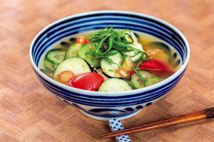 【ダイエット対策】食欲がない日はこれ!野菜たっぷりの冷や汁