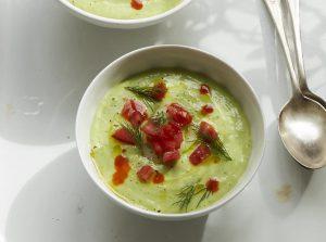 【ピオッピ式長生きレシピ】キュウリとアボカドの冷製スープ