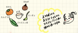 イノコ ハナエのきれいになる漢方 vol.10 〜基礎体温がギザギザな人はらっきょで「気」を正そう!〜