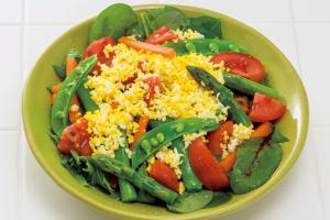 【認知症の予防は食事も大切】抗酸化栄養たっぷりレシピ「野菜のミモザサラダ」