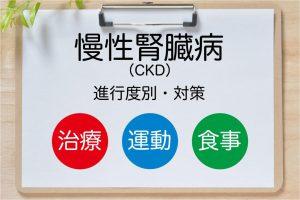 慢性腎臓病(CKD)の予防・治療法が進行度別にわかる|食事・運動法から最新透析法まで