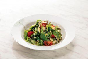 香味倍増!亜麻仁油のグリーンサラダ(高い血糖値を気にする人に)