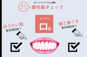 【あなたの顔年齢チェック③〜口元】ほうれい線や歯茎の色に注目(美人歯科医考案)
