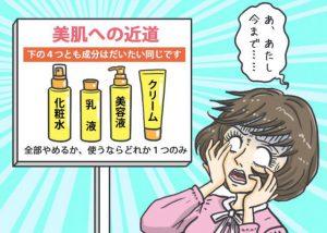 リセット美容【基礎化粧品編】同じシリーズで揃える「ライン使い」は危険。1種類のみを使おう