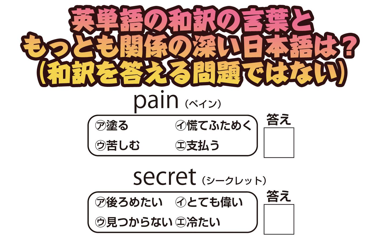 【楽しく脳トレ!】「英訳連想クイズ」で認知症・MCI・物忘れ対策を!